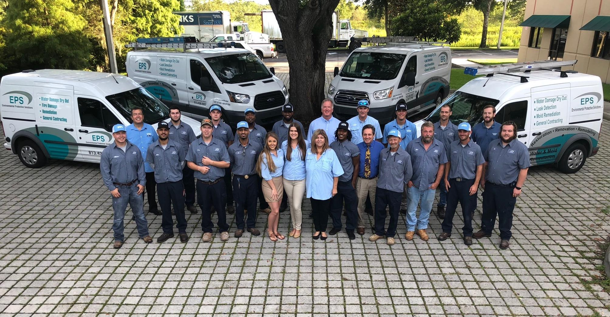 the environmental protection solutions team